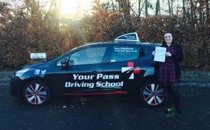 A huge thank you to Gary for getting me through my test! I have learnt to drive on and off for 8 years with Gary being my 3rd instructor. His calm, fun and easy to understand methods have made me not only pass my test but confident to drive on my own and with my toddler! I cannot recommend Your Pass enough.