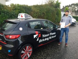 I would highly recommend Gary at Your Pass. I have had a couple of previous instructors and Gary put me most at ease. I never really enjoyed driving until I started with Your Pass, and it wasn't long until I passed my test. I can't thank Gary enough.