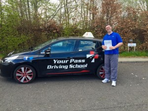 Keven, Manual Completed 2 block bookings for my manual test with your pass driving school. Passed first time. Could not recommend your pass driving school enough, especially Gary Russell. One of the best instructors in this area. Easy going, flexible and very understanding, even when a did clip a   <div id=